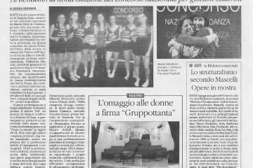 Rassegna Stampa 2018-1